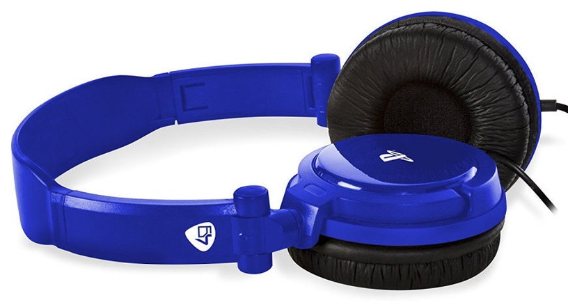4Gamers Stereo Gaming Headset Wired Blue