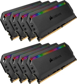 Corsair Dominator Platinum RGB 128GB 3800MHz CL19 DDR4 KIT OF 8 CMT128GX4M8X3800C19