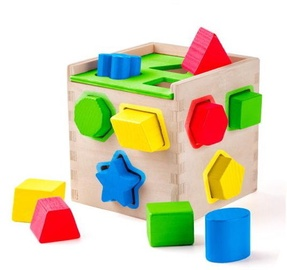 Woody Shape Sorting Box 91866