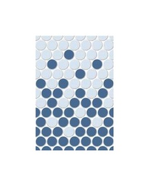 Keraminės dekoruotos sienų plytelės Bleiz 2, 40 x 27.5 cm