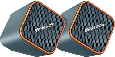 Canyon CNS-CSP203 2.0 Speakers Dark Grey/Orange