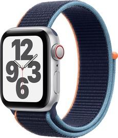 Išmanusis laikrodis Apple Watch SE GPS LTE + Cellular, 40mm Aluminum Deep Navy Sport Loop, sidabro