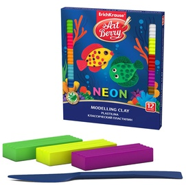ErichKrause Modelling Clay Neon 12pcs