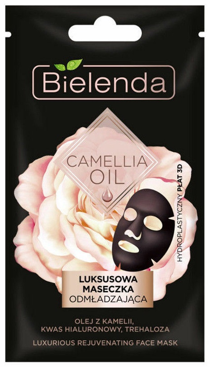 Bielenda Camellia Oil Luxurious Sheet Mask 1pcs