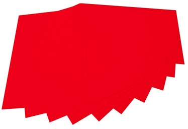 Folia 20 x 30cm 150g/m2 10pcs Red