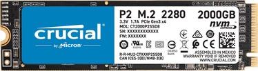 Crucial P2 M.2 NVMe 2TB