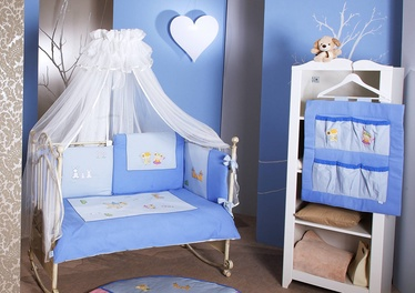 Feretti Trio 3 Bedding Set Romeo Blue Prestige 3pcs