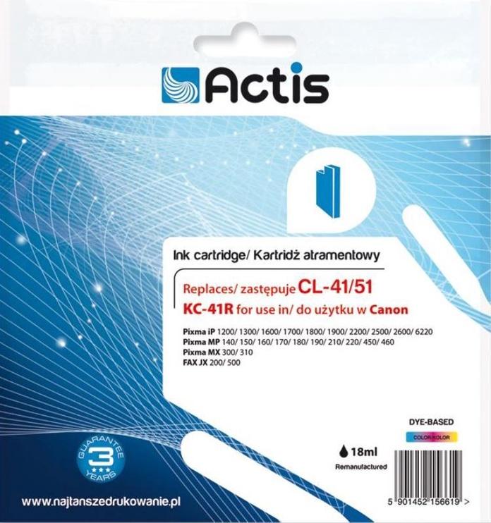 Кассета для принтера Actis Cartridge For Canon 18ml MultiColor