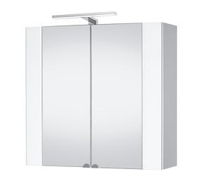 Vonios spintelė su veidrodžiu Riva SV80-10