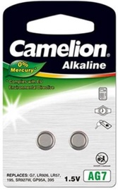 Camelion AG7 Alkaline Buttoncell Battery x 2