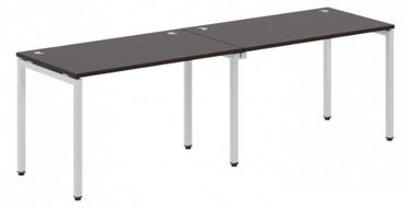 Skyland Xten-S XWST 2470 Writing Desk 240x70x75cm Legno Dark/Aluminium