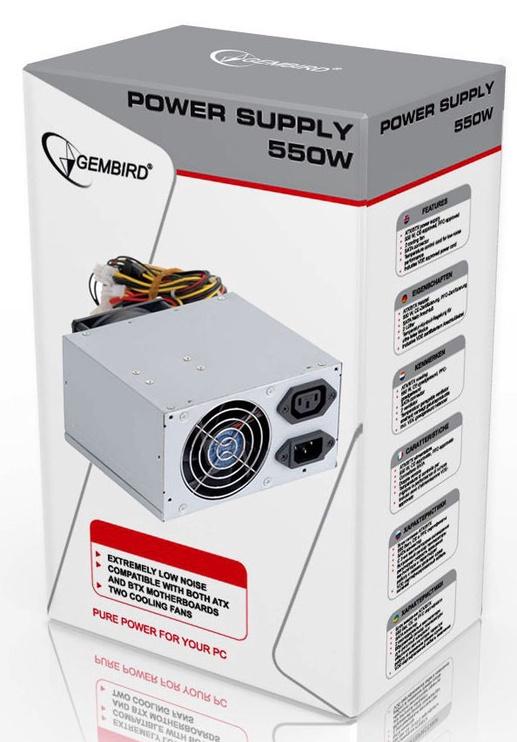 Gembird ATX/BTX 1.3 CE 550W CCC-PSU7