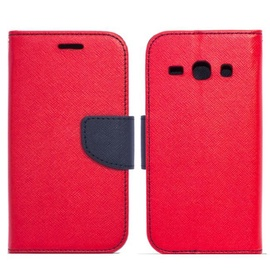 Telone Fancy Diary Bookstand Case For Nokia 6.1/6 2018 Red/Blue