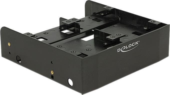 """Delock 5.25″ Installation Frame For 1 x 3.5"""" + 2 x 2.5"""" Or 6 x 2.5"""""""