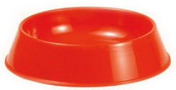 Record Bowl 14cm Red