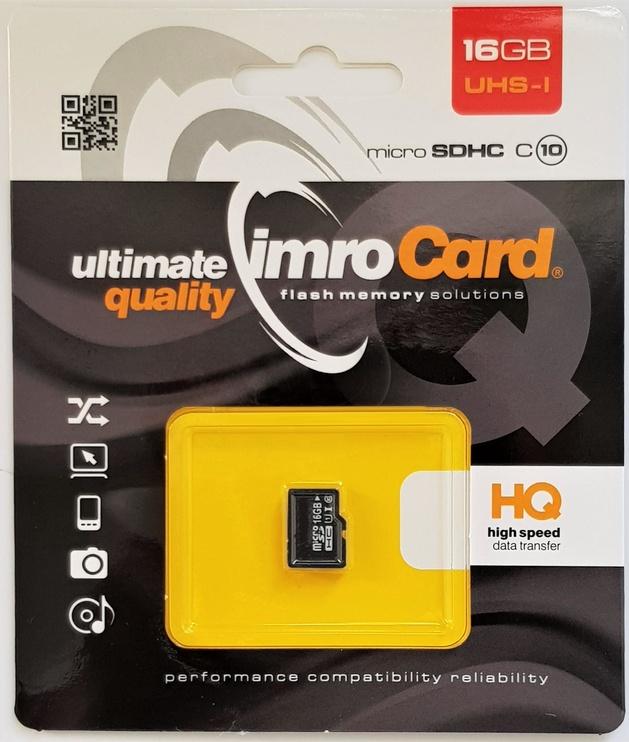 Карта памяти IMRO 10 16GB MicroSDHC Class 10 UHS-I