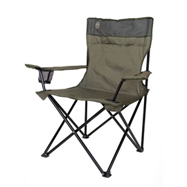 Coleman Compact Folding Standard Quad Chair Green