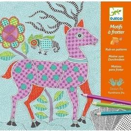 Djeco Patterns To Rub Mithila Rub On Patterns
