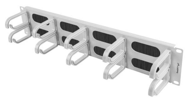 "Lanberg Cable Managment Panel 19"" Grey"