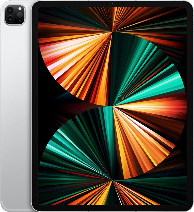 Планшет Apple iPad Pro 12.9 Wi-Fi 5G (2021), серебристый, 12.9″, 8GB/512GB
