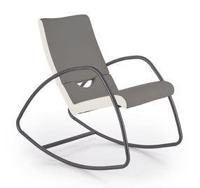 Halmar Balance Rocking Chair White/Grey