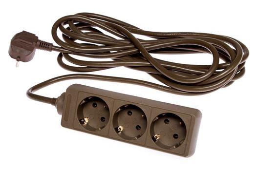 Удлинитель Okko Power Strip 3 Outlet 250 V 16A 5m