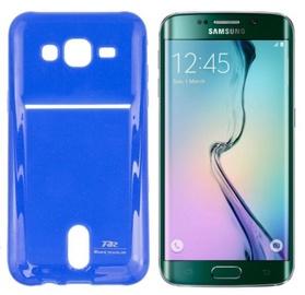 Roar Pocket Jelly Case For Samsung G925 Galaxy S6 Edge Blue