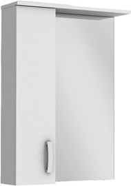 Vento Butterfly 60 BFMC1-60 Cabinet with Mirror Left 600x830x166mm White