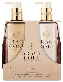 Grace Cole Ginger Hand Care Duo 300ml Oud Accord & Velvet Musk