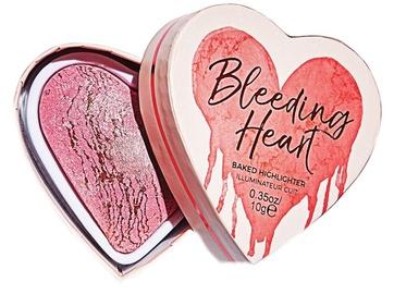 Makeup Revolution London I Love Makeup Blushing Hearts Baked Highlighter 10g Bleeding Heart