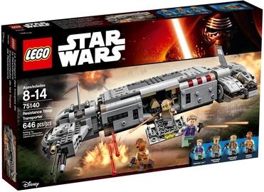 Конструктор LEGO Star Wars Resistance Troop Transporter 75140, 646 шт.