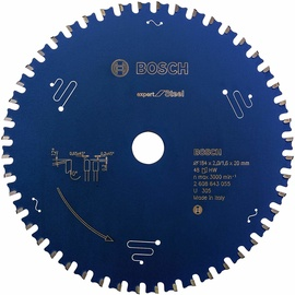 Bosch 2608643055 Circular Saw Blade Expert For Steel 184mm Blue