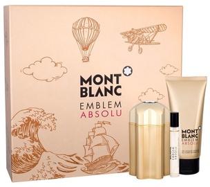 Mont Blanc Emblem Absolu 100ml EDT + 100ml Shower Gel + 7.5ml EDT