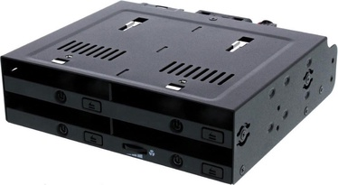 "Icy Dock flexiDOCK MB524SP-B 4x2.5"" SAS/SATA"