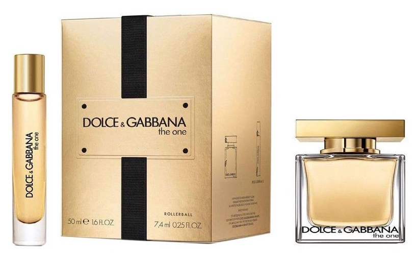 Dolce & Gabbana The One 50ml EDP + 7.4ml Rollerball EDP
