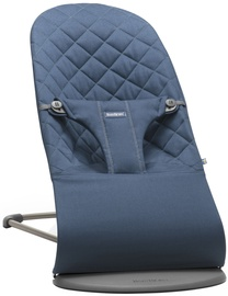 BabyBjorn Bouncer Bliss Midnight Blue Cotton 006015