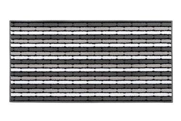 Ковер EmmeVi Swami White/Black/Gray, 80x50 см