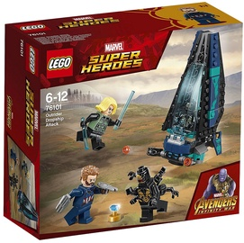 Конструктор LEGO Super Heroes Outrider Dropship Attack 76101 76101, 124 шт.