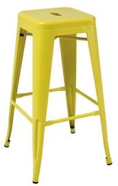 Signal Meble Long Bar Stool Yellow