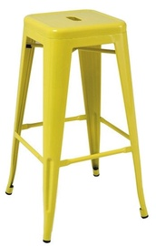 Signal Meble Long Bar Stool Yellow