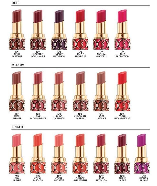 Yves Saint Laurent Rouge Volupte Shine Lipstick 4.5g 59
