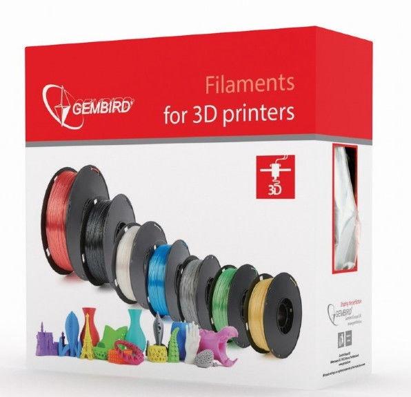 Расходные материалы для 3D принтера Gembird 3DP-PLA, 330 м, синий