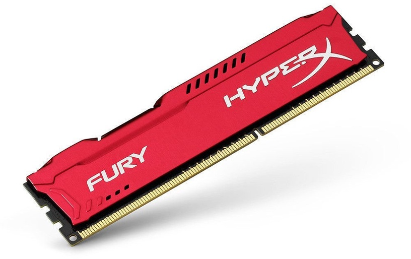 Kingston HyperX Fury Red 8GB 2666MHz CL16 DDR4 DIMM HX426C16FR2/8
