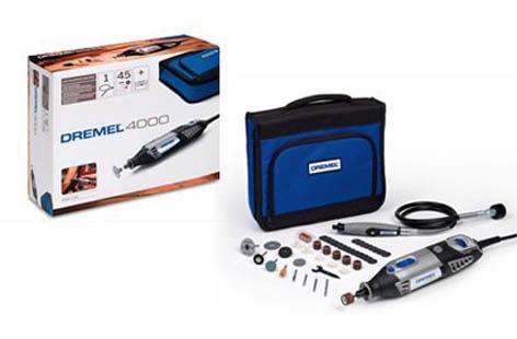 Rotacinis įrankis Dremel 4000, su 45 priedais