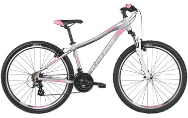 "Kross Lea 2.0 M 27.5"" Silver White Pink Matte 19"