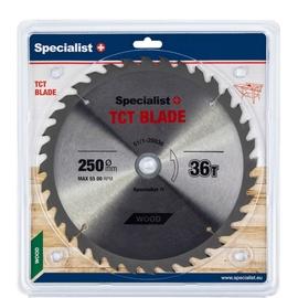 Пильный диск Specialist+, 250 мм x 30 мм