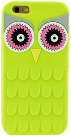 Zooky Soft 3D Back Case For Samsung Galaxy A5 A510F Owl Green