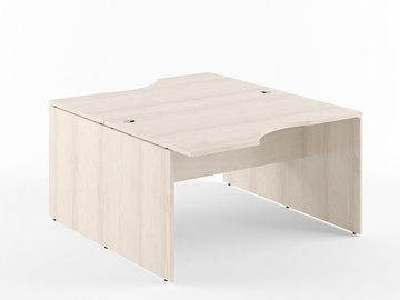 Skyland Xten X2CET 169.2 Double Desk 160x180cm Beech Tiara