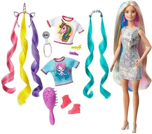 Кукла Mattel Barbie Fantasy Hair With Mermaid & Unicorn Looks GHN04