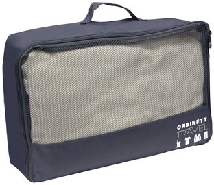 Ordinett Travel Bag 40x30x15cm J-Bag Grey